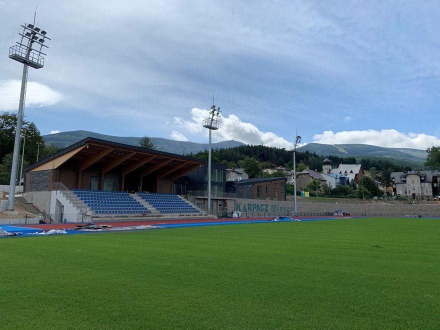 Karpacz: Nowy stadion dla lekkoatletów