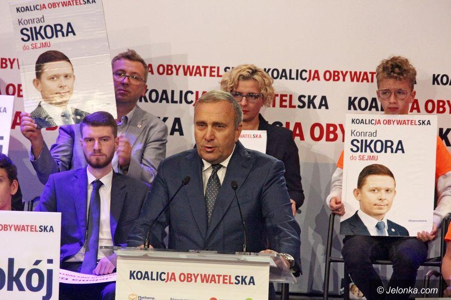 Jelenia Góra: Polityczna konwencja Koalicji Obywatelskiej