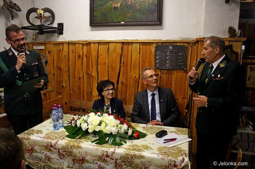 Chromiec: Marszałek Sejmu odwiedziła myśliwych