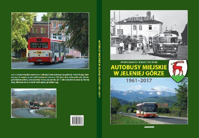 Jelenia Góra: Książka o jeleniogórskich autobusach