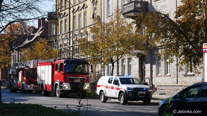 Jelenia Góra: Zatrucie czadem na Wojska Polskiego