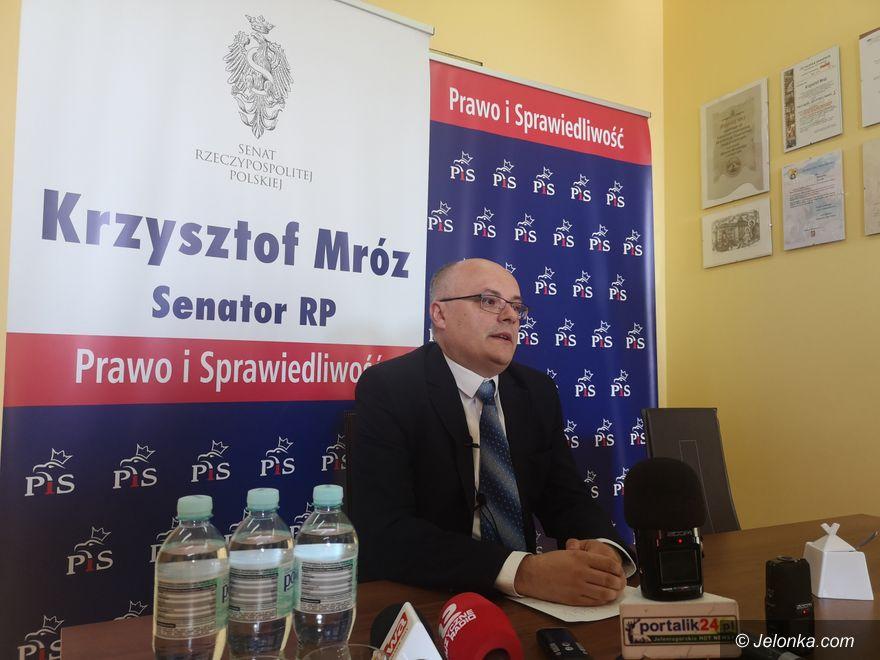 Jelenia Góra: Senator dziękuje wyborcom i rywalom