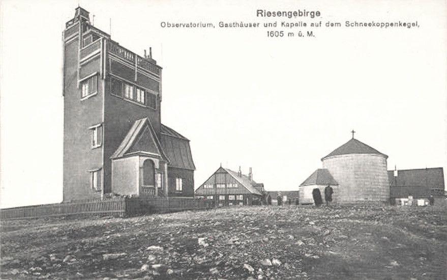 Region: Obserwatorium na szczycie Śnieżki