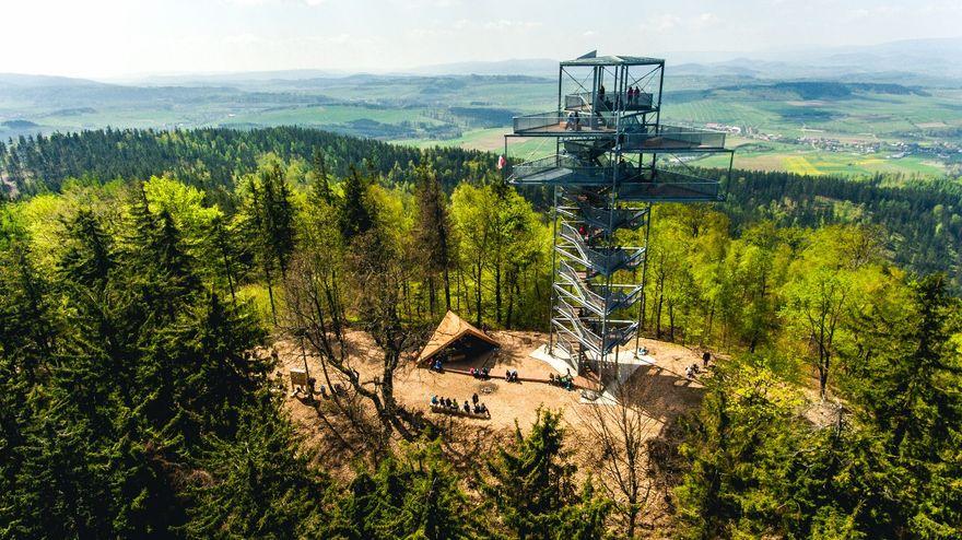 Region: Widok z wieży na Trójgarbie zachwyca!