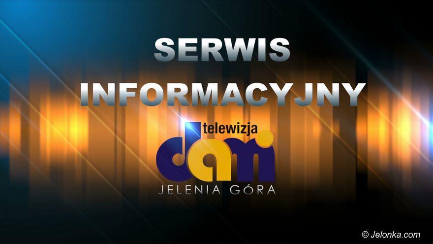 Jelenia Góra: 2019.10.18 Serwis Informacyjny TV Dami Jelenia Góra