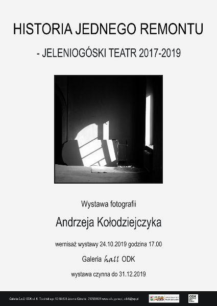 Jelenia Góra: Już dziś otwarcie wystawy Andrzeja Kołodziejczyka w ODK