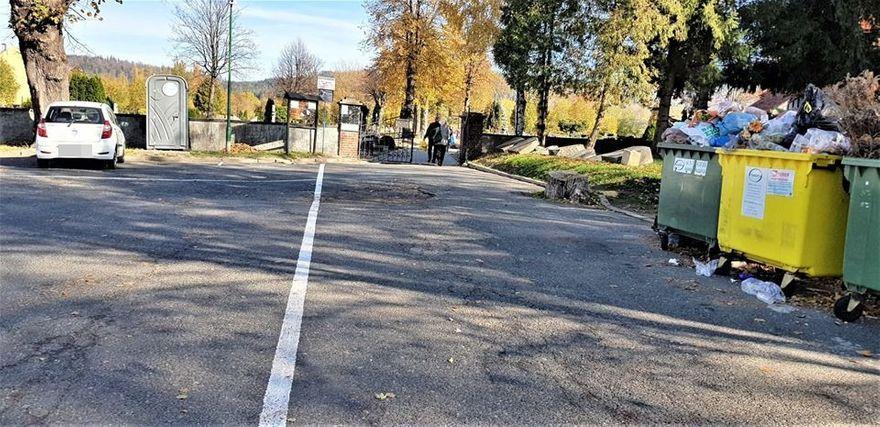 Kowary: Zmiany przed kowarskim cmentarzem