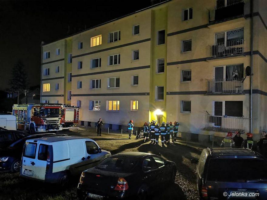 Jelenia Góra: Był wyciek gazu – ewakuowano 20 osób