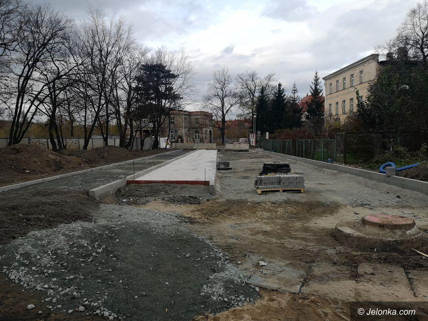 Jelenia Góra: Trwa przebudowa drogi