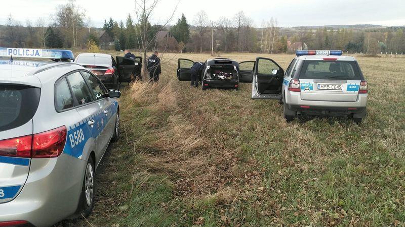 Region: Kierowca zatrzymany po pościgu