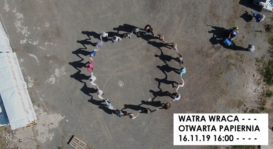 Jelenia Góra: Watra wraca w Otwartej Papierni