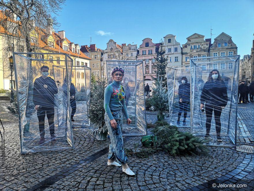 Jelenia Góra: Młodzież   artystycznie na rzecz czystego powietrza