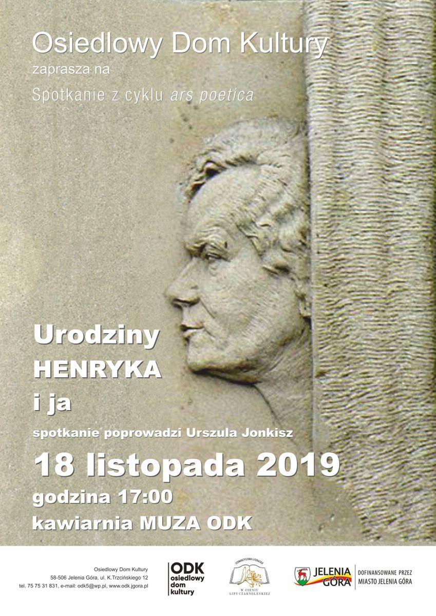 Jelenia Góra: W rocznicę urodzin Henryka Tomaszewskiego spotkanie w ODK