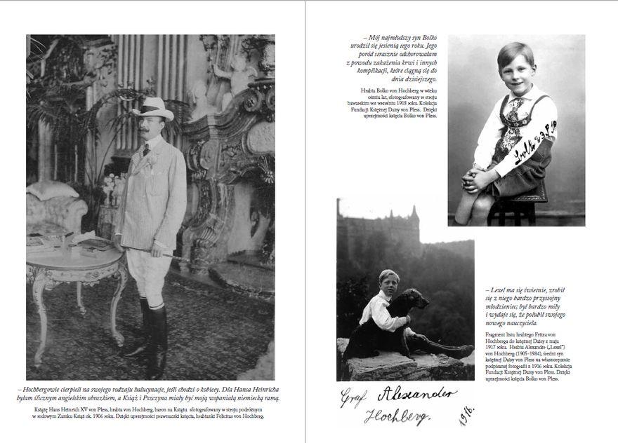 Wałbrzych: Księżna Daisy von Pless o sobie samej
