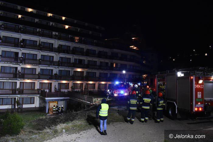 Karpacz: Pożar Hotelu Gołębiewski