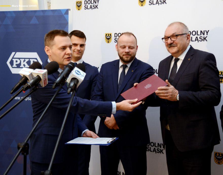 Region: Dolny Śląsk przejmuje następne linie kolejowe od PKP
