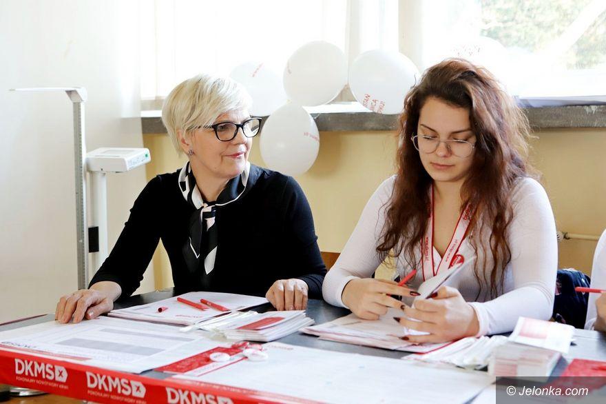 Jelenia Góra: Szczytna akcja w szkole