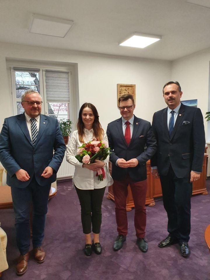 Powiat: Nowa dyrektor w Starostwie