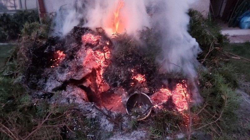Jelenia Góra: Spalał odpady – został ukarany mandatem