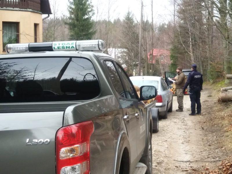Powiat: Policjanci i strażnicy monitorują lasy