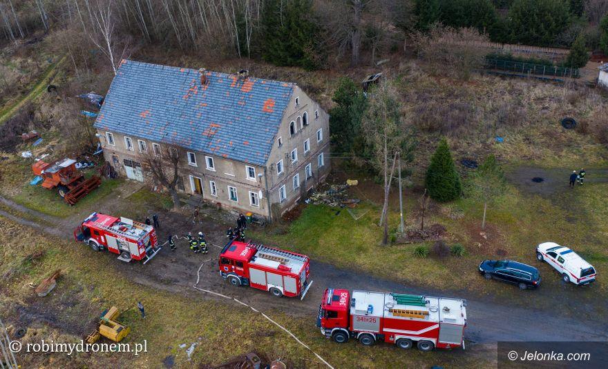 Czernica: Pożar domu w Czernicy