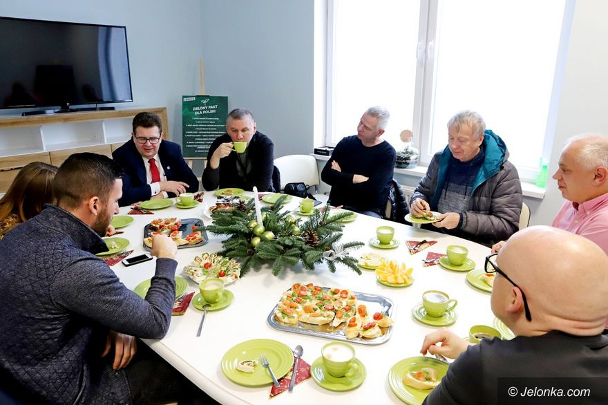 Jelenia Góra: Śniadanie z posłem
