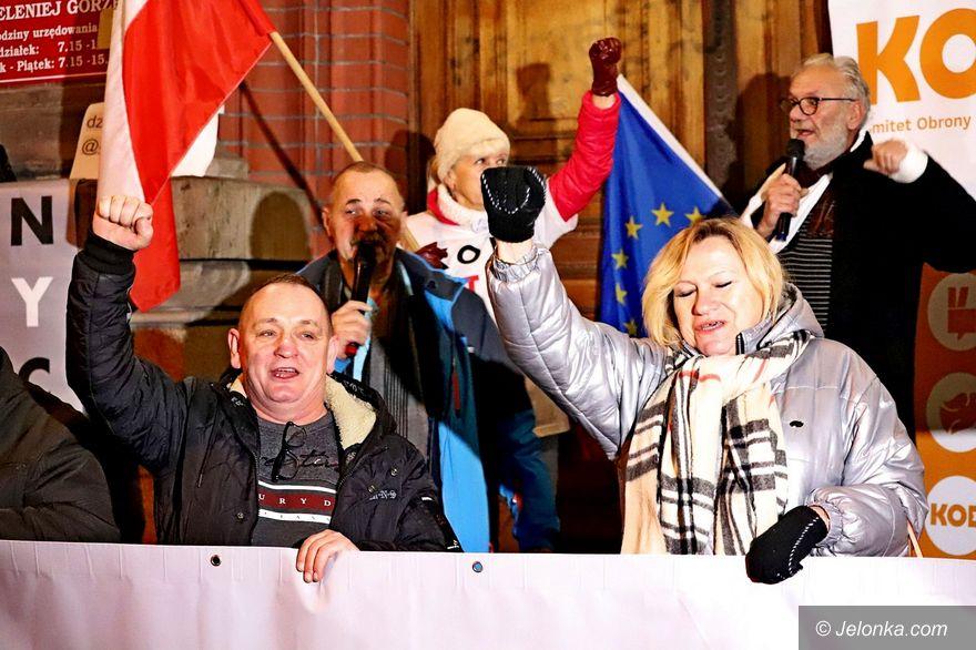 Jelenia Góra: Mobilizacja opozycji