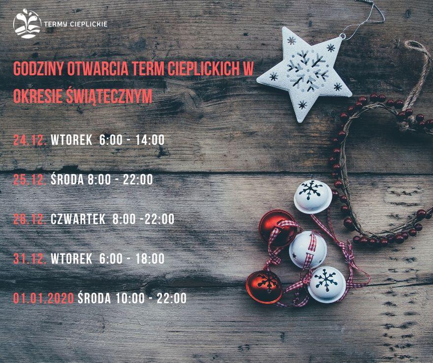 Jelenia Góra: Podczas świąt relaks w Termach Cieplickich
