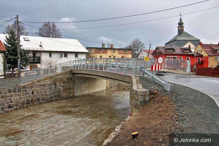 Podgórzyn: Most już gotowy