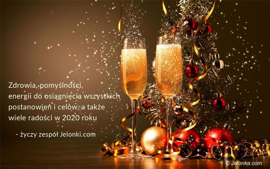 Jelenia Góra: Szczęśliwego nowego roku