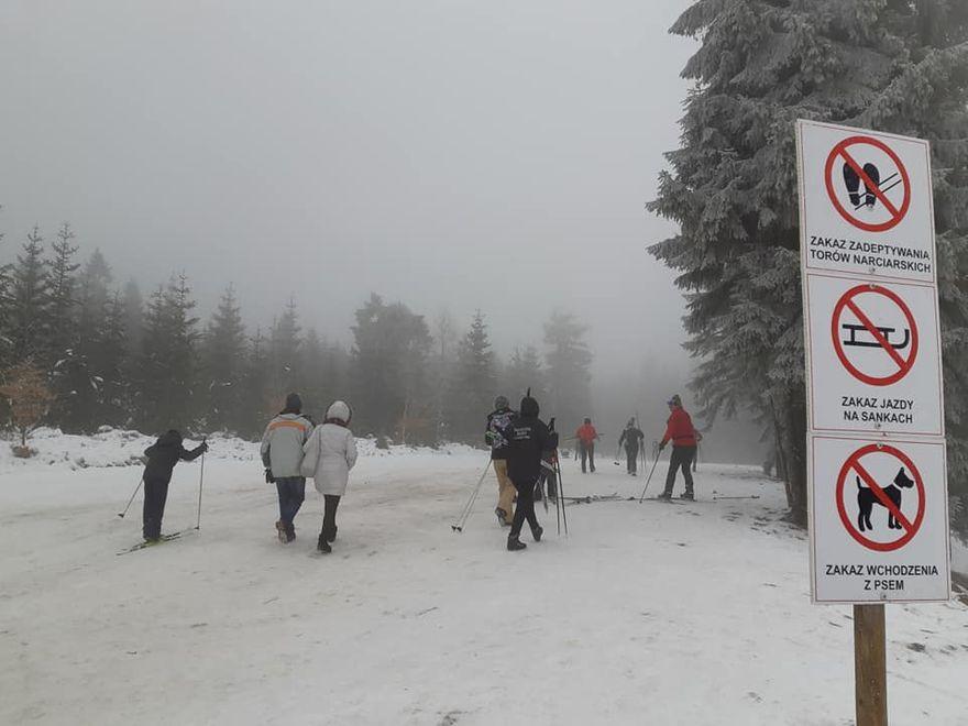 Polana Jakuszycka: Biegacze narciarscy apelują do pieszych