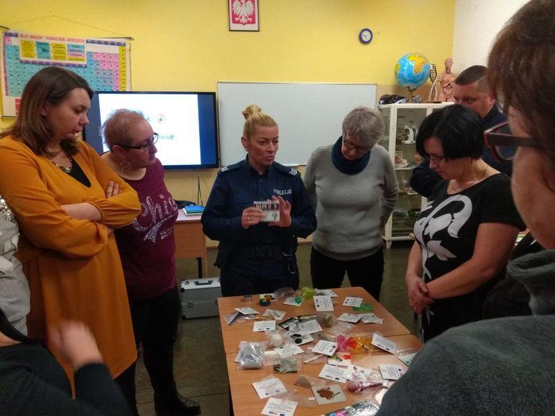 Powiat: Drugstop: Spotkanie z  nauczycielami w Sosnówce
