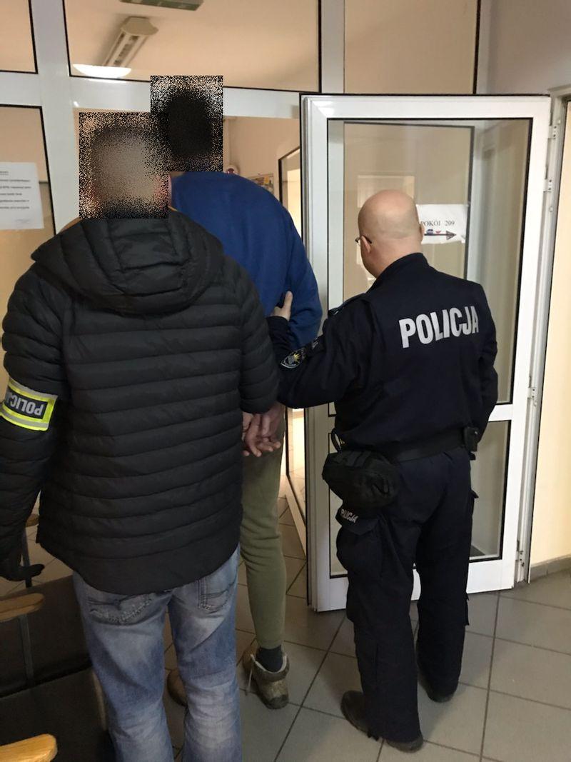 Jelenia Góra: Podejrzany o kradzież rozbójniczą zatrzymany