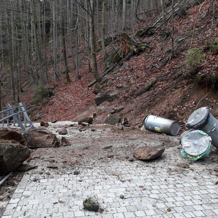 Szklarska Poręba: Zamknięty szlak do Wodospadu Szklarki