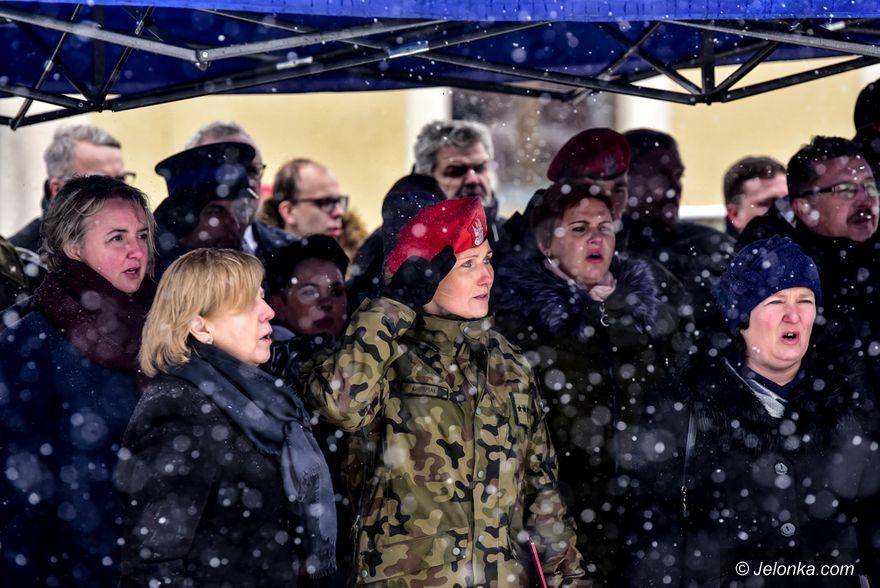 Region: Uroczystości we wsi żołnierzy niezłomnych