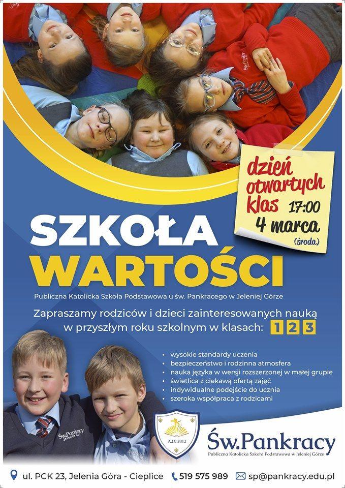 Jelenia Góra: Wyjątkowa szkoła u św. Pankracego