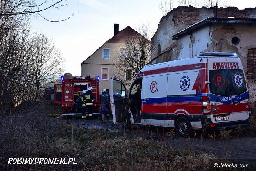 Jelenia Góra: Podpalenie mieszkania