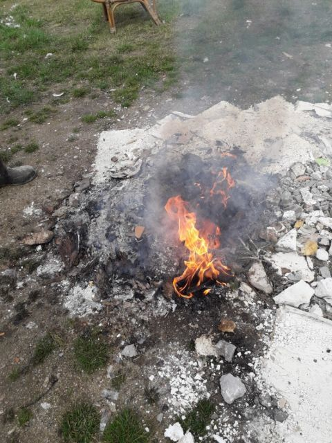 Jelenia Góra: Spalał odpady przy ulicy Wrocławskiej
