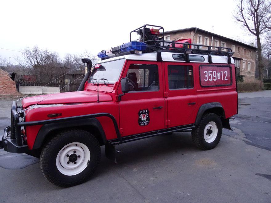 Janowice Wielkie: Nowy wóz janowickich strażaków