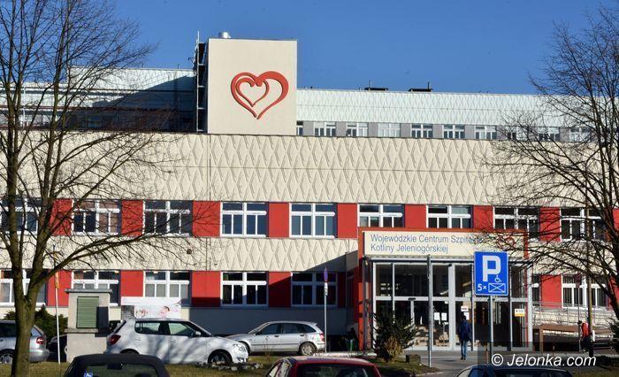 Jelenia Góra: Koronawirus w szpitalu, zakażony wicedyrektor do spraw lecznictwa