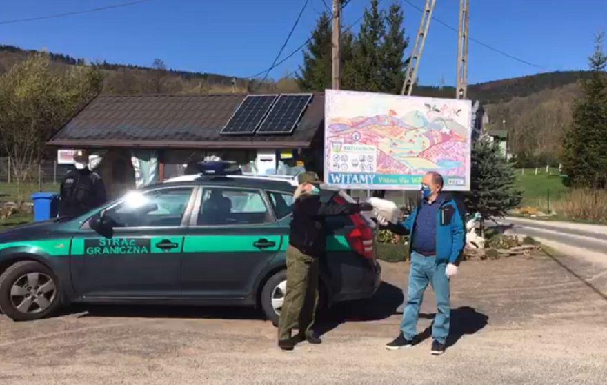 Jelenia Góra: Pogranicznicy z Jeleniej Góry dostali prezent