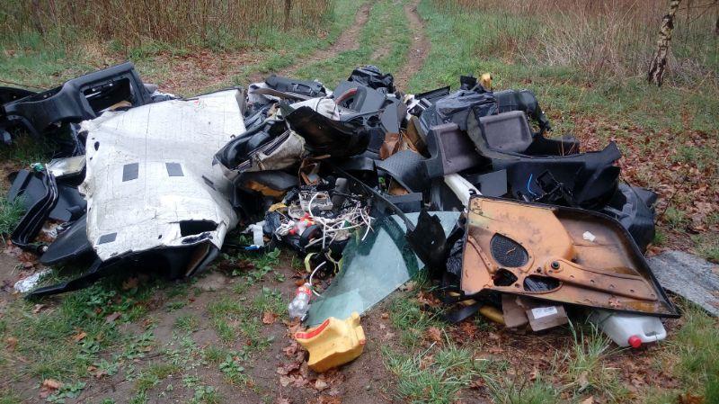Jelenia Góra: Podrzucili odpady – odpowiedzą przed sądem