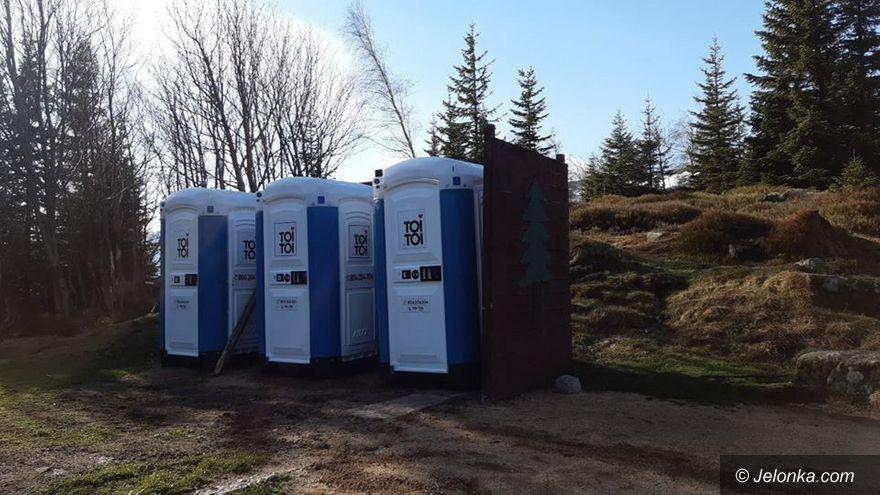 Karkonosze: Toalety przenośne w KPN