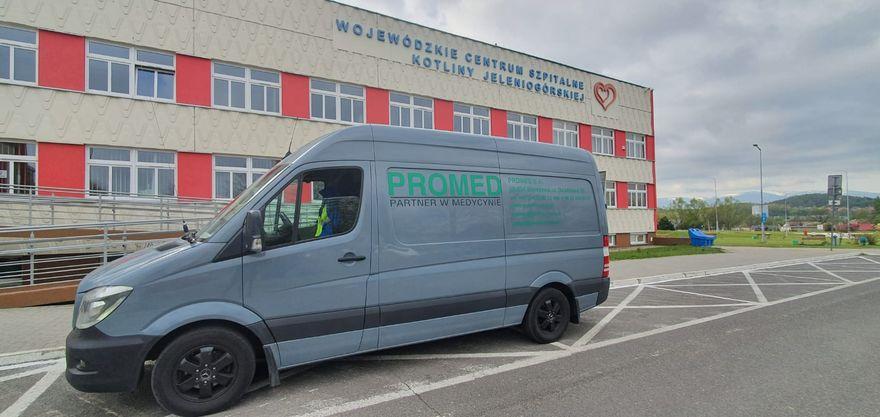 Jelenia Góra: Promatic wspiera szpital w Jeleniej Górze w walce z koronawirusem