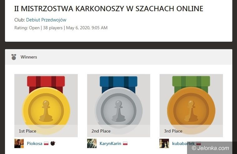 Jelenia Góra/Świat: Znamy zwycięzców drugiej edycji szachowych zmagań!
