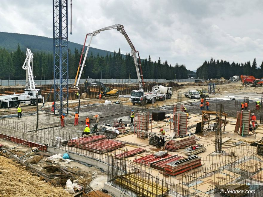 Jelenia Góra: Budowa Dolnośląskiego Centrum Sportu – postępy