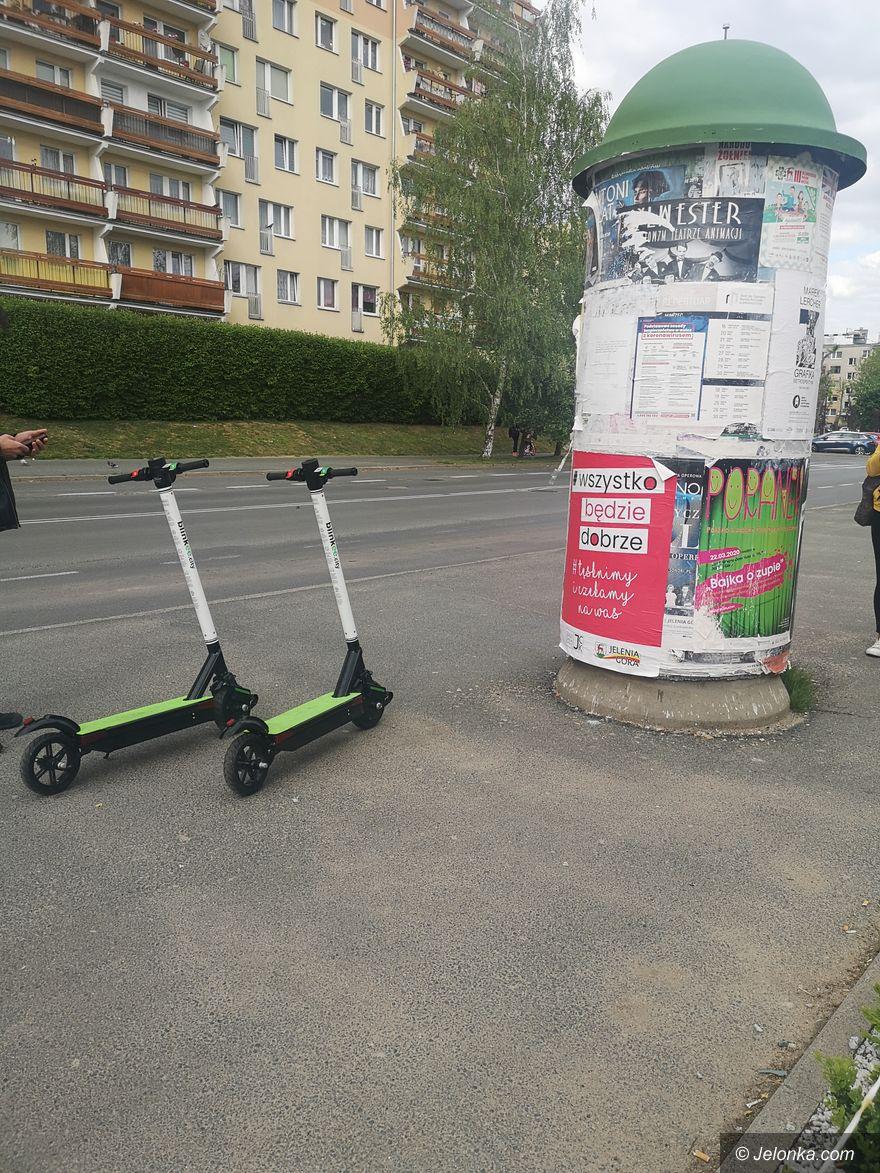 Jelenia Góra: Elektryczne hulajnogi w Jeleniej Górze