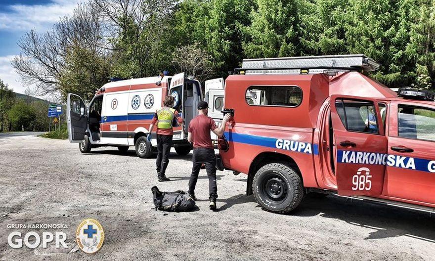 Powiat: Ratownicy GOPR w akcji