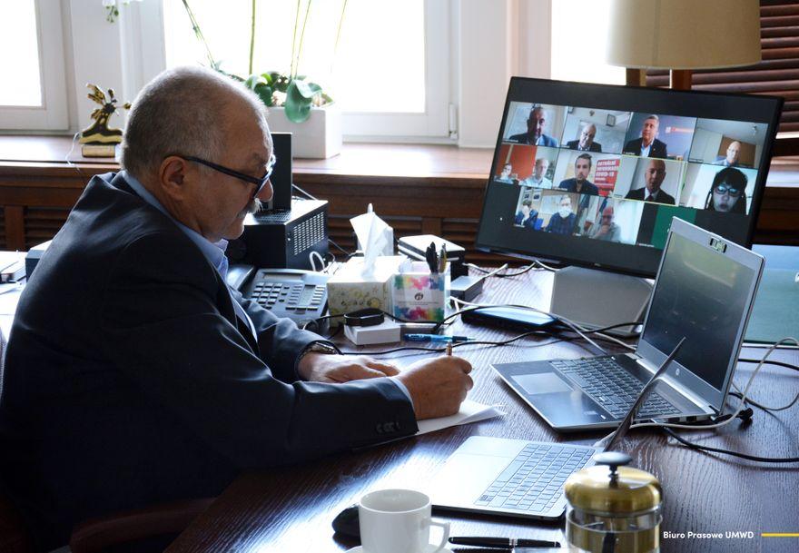 Region: Wideokonferencja z partnerami z Czech