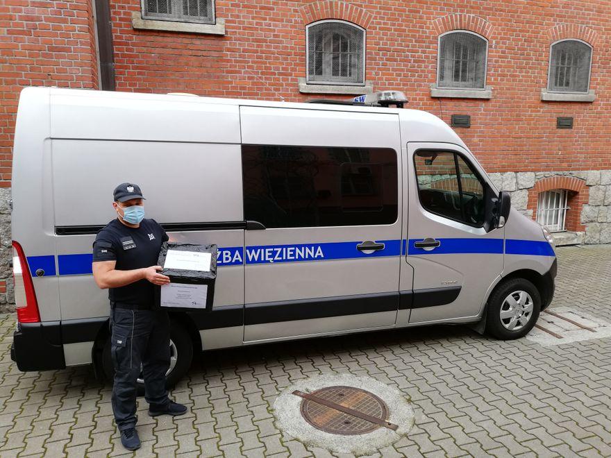 Jelenia Góra: Maseczki z aresztu